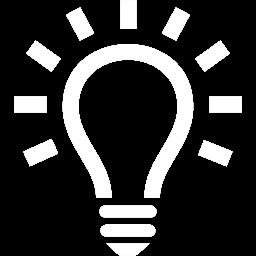 Iconmonstr Light Bulb 18 Icon 256 Prosolve Consulting Ltd